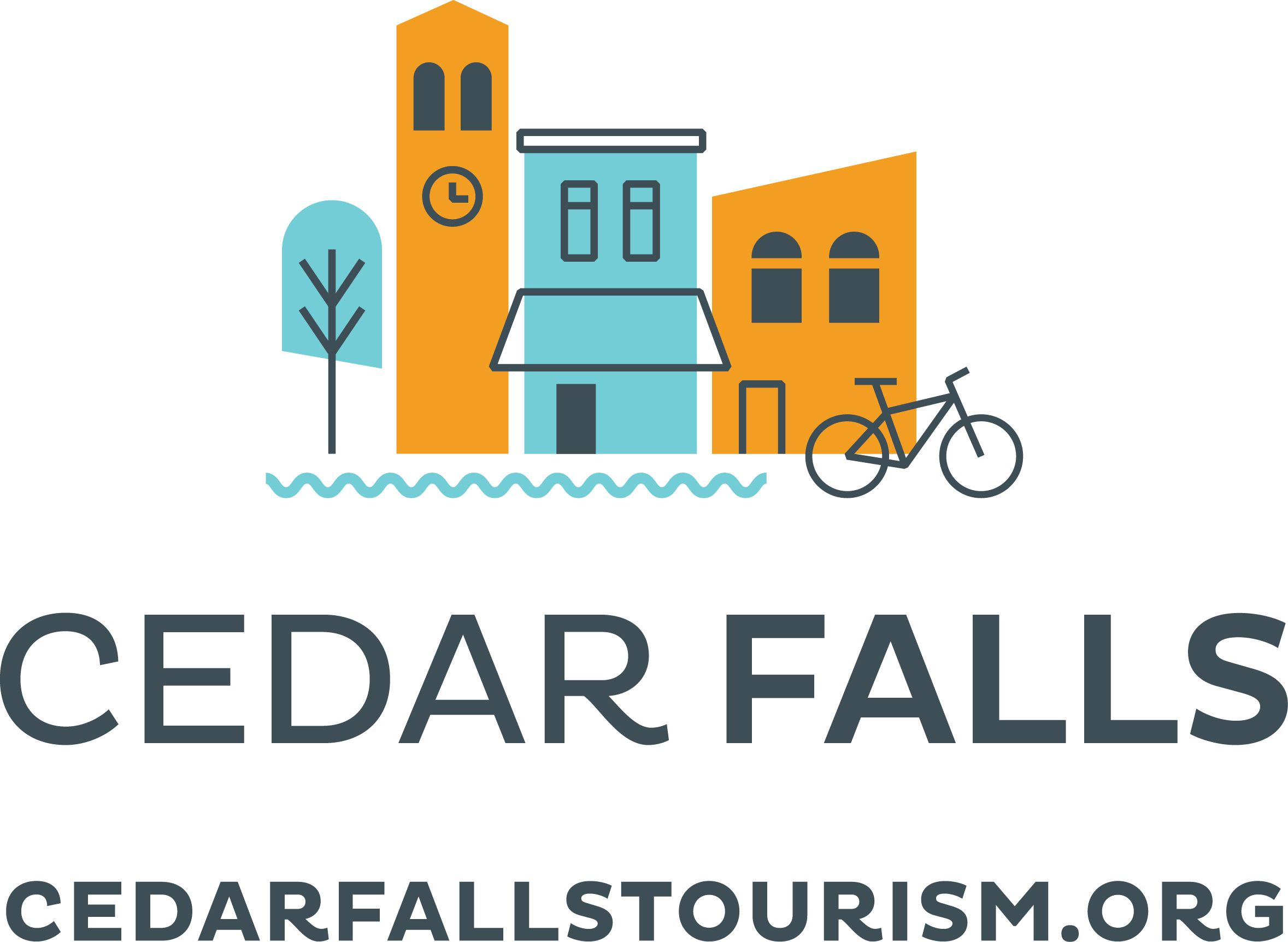 Cedar Falls Tourism & Visitors Bureau logo