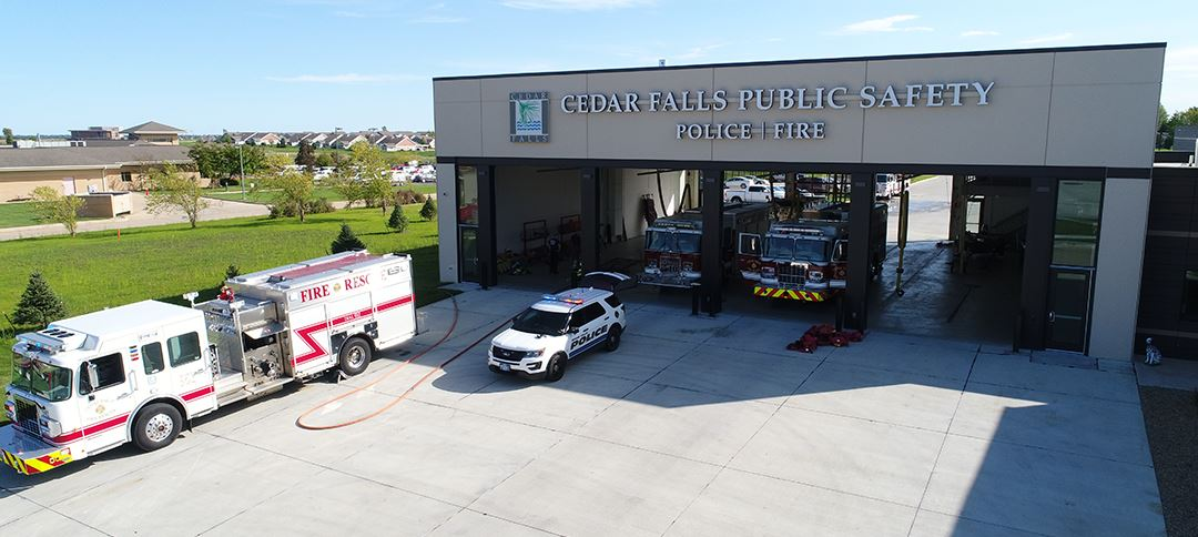 Cedar Falls Public Safety building