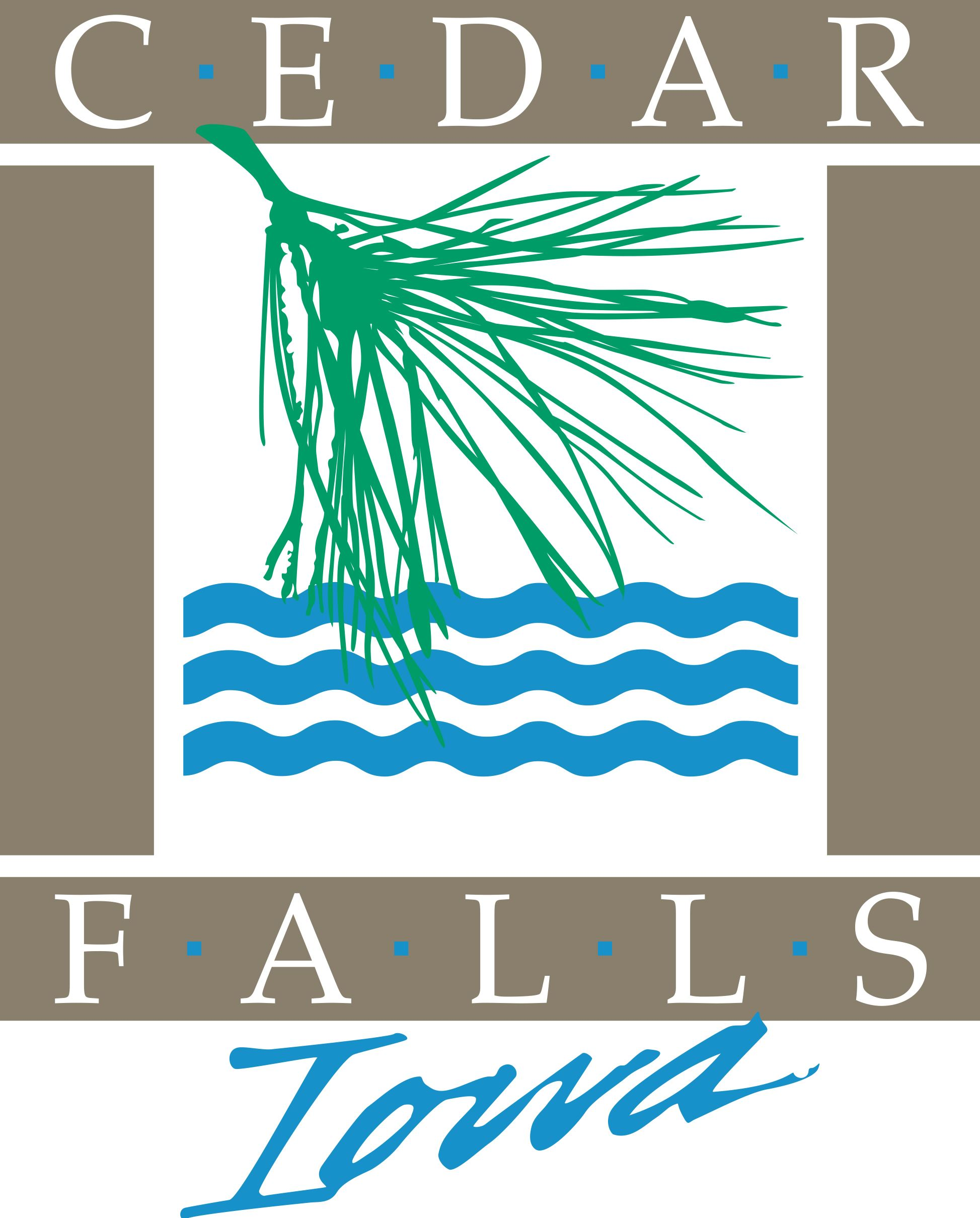 The City of Cedar Falls logo