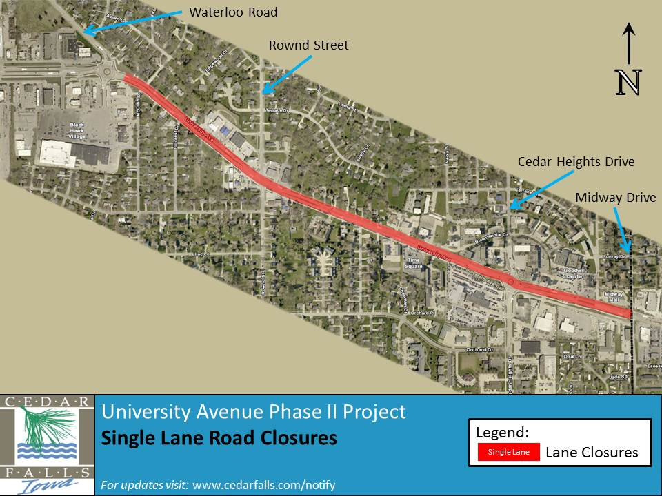 University Ave Phase II Project