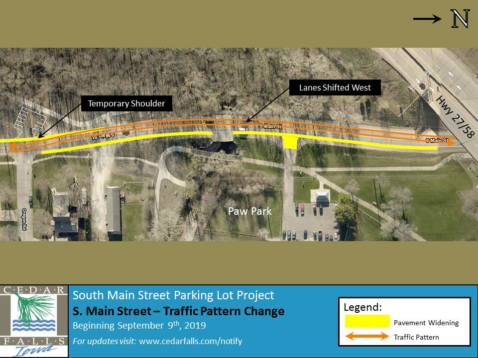 S. Main Street-Traffic Pattern Change